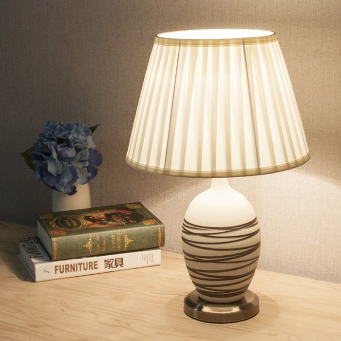 22/26/30/35/40/45CM Diameter Fabric Champagne Light Lampshade Home Table Lamp Fixture Cover Decor