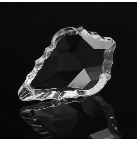 Beautiful Wedding Home 38MM Glass Prisms Clear Crystal Chandelier Part
