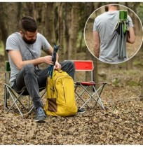 Outdoor Camping Portable Folding Chair Lightweight Fishing Travel Accessories