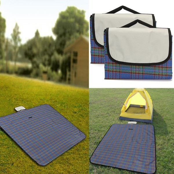 Outdoor Camping Waterproof Picnic Mat Travel Beach Foldable Blanket Rug