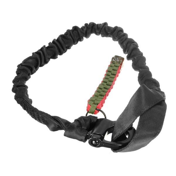 2M Climbing Tactical Single Point Sling Bungee Adjustable Safety Catcher Rope Strap Cord