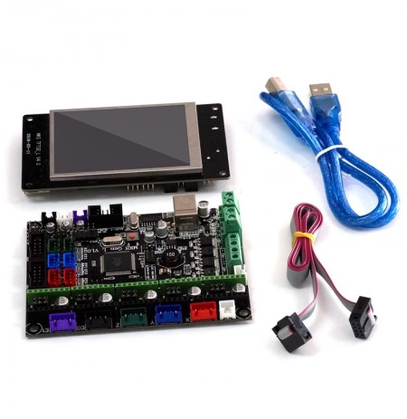MKS-GEN L V1.0 Integrated Controller Mainboard + 3.2 Inch MKS-TFT32 Full Color LCD Touch Screen Support Power Resume Print BT AP