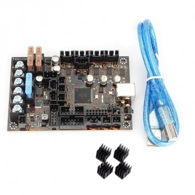 Einsy Rambo 1.1a Mainboard With 4pcs Heatsink For 3D Printer Reprap Prusa i3 MK3 Board
