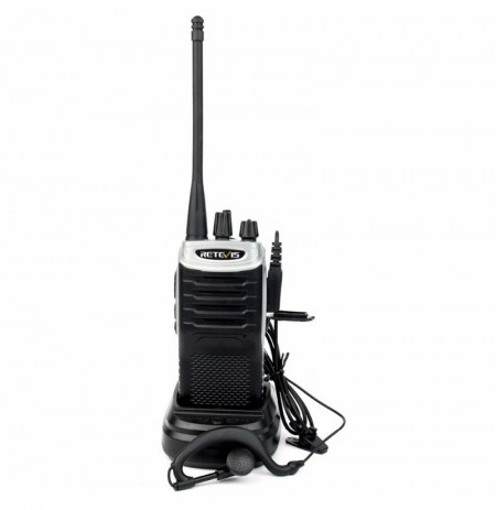 Retevis RT7 Walkie Talkie 5W 16 channels UHF 400-470MHz Digital FM Radio V OX Scan Walkie-Talkie