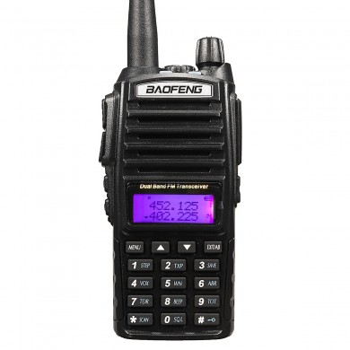 BaoFeng UV-82 Tragbares High Power Dual Band Funk-Walkie-Talkie-Funkgerät