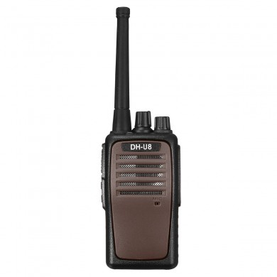 FJX DH-U8 Handheld Zwei-Wege-Walkie Talkie Radio Communicator Transceiver 4000mAh Li-Ion Batterie