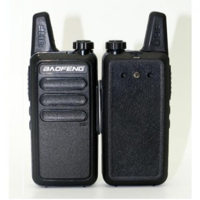 Baofeng BF-R5 Mini Walkie Talkie with Headset 5W power 400-470Mhz Frequency UHF Handheld Radio Intercom Two Way Radio