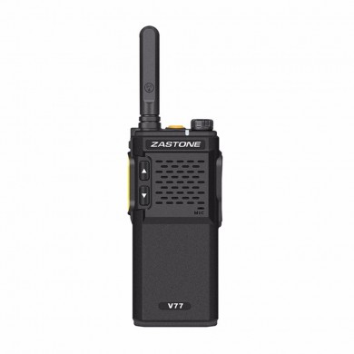 Zastone V77 Portable Walkie Talkie UHF 400-470MHz HF Transceiver Communicator Two Way Radio Ham