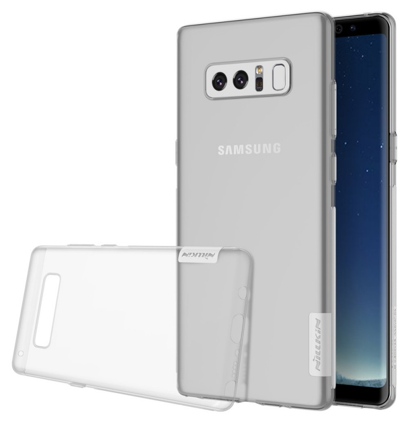 NILLKIN Soft TPU Ultra-thin Shockproof Case for Samsung Galaxy Note 8 (Color: white) фото
