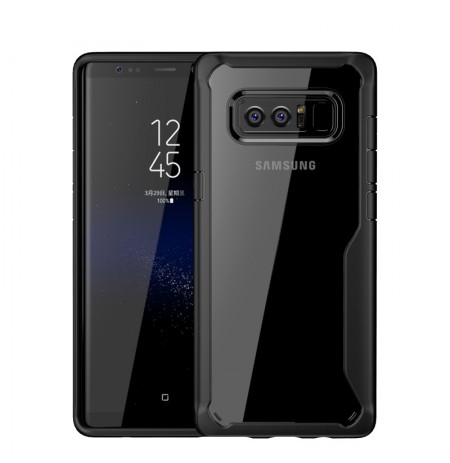 Transparent Anti Fingerprint Soft TPU Case for Samsung Galaxy Note 8