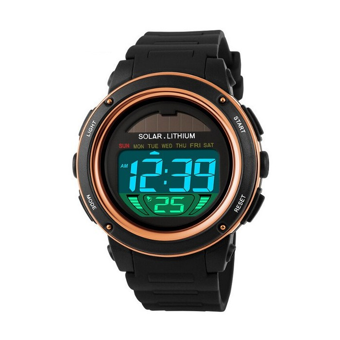 SKMEI 1096 LED Date Chronograph Waterproof Men Sport Watch