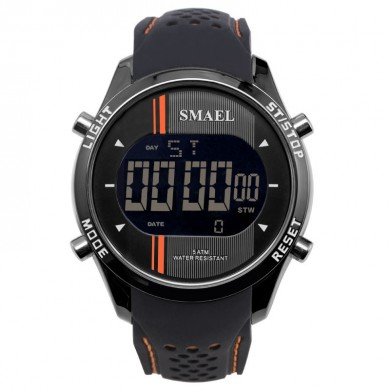 SMAEL 1283 LED Men Sport Outdoor Military Digital Watch