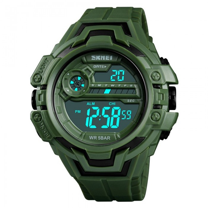 SKMEI 1383 Calendar Stopwatch Luminous Display Digital Watch