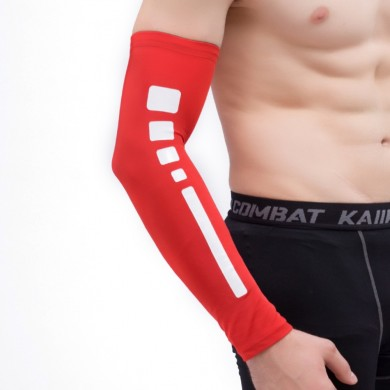 Hombre Summer al aire libre Breathable Riding Arm Sleeve