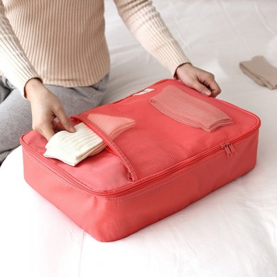 Nylon Casual Clothes Luggage Bag Storage Bag Travel Bags