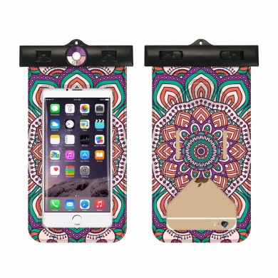 Women Bohemian Waterproof Beach Phone Storage Bag