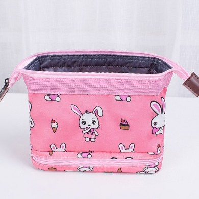 Women Oxford Print Large Capacity Travel Bag Storage Bag