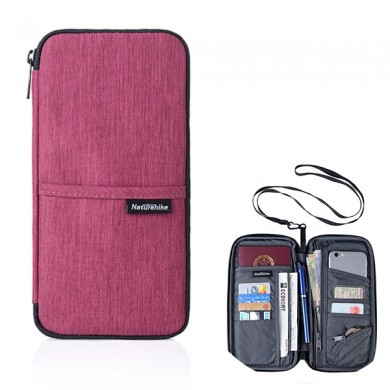 Travel Multi-slots Passport Holder Organizer Cover Card Bag