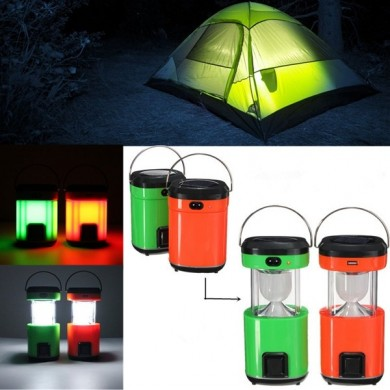 Solar Power Portable Rechargeable LED Torch Lantern Outdoor Camping Hiking Tent Lamp