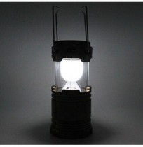 Portable LED Solar Camping Lamp Outdoor Indoor Emergency USB Phone Charging Light