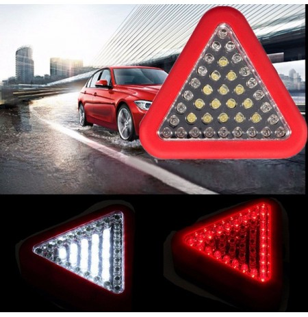39 LED Camping Flash Torch Car Light Emergency Work Warning Lamp Triangle Magnetic Hook