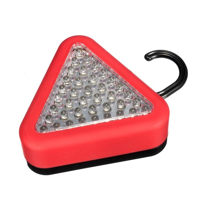 39 LED CAMPING FLASH TORCH CAR LIGHT WORK LAMP MAGNETIC WITH HOOK WARNING BRIGHT