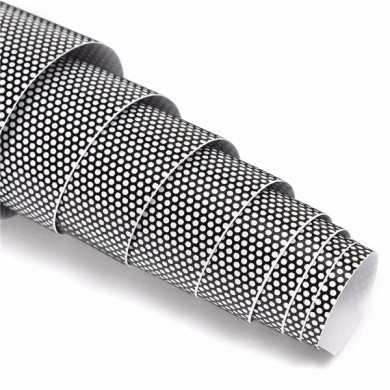 Tinting Perforated Mesh Film Sticker 60x106cm for Tint Headlight Rear Lamp