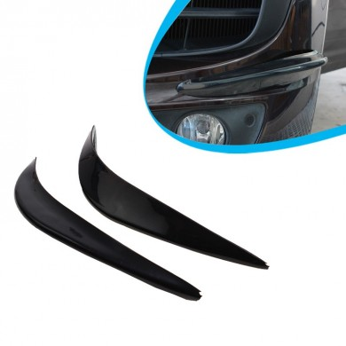 SHUNWEI Pair PVC Bumper Strips Anti-Collision Strip For Front Rear Car
