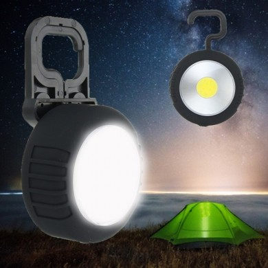 LED Magnetic Camping Tent Light Handy Lamp Lanterna com Gancho