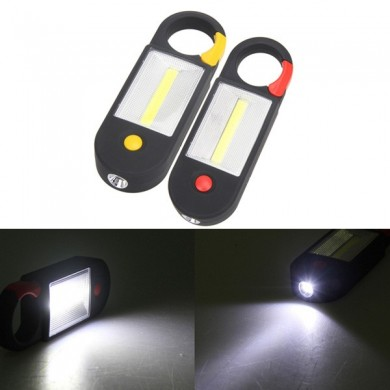 3W Portable Exterior Magnetic Gancho COB LED Camping Tent Lamp Inspecção Pesca Fishing Torch
