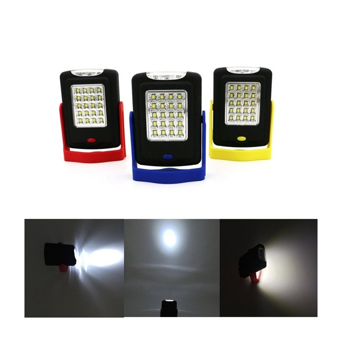 5W Portable 23 LED Magnético Gancho Camping Tent Lantern Outdoor Work Torch Hanging Light