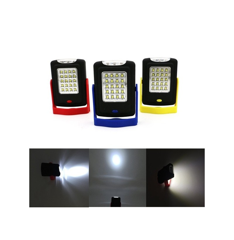 5W Portable 23 LED Magnetic Hook Camping Tent Lantern Outdoor Work Torch Hanging Light (Color: Red) фото