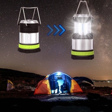 Portable LED wiederaufladbare Multifunktions Camping Laterne Wireless Bluetooth Lautsprecher Zelt Licht