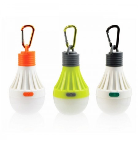 1W Portable Hanging LED Ball Camping Tent Lâmpada Outdoor Fishing Hiking Lantern Night Lamp