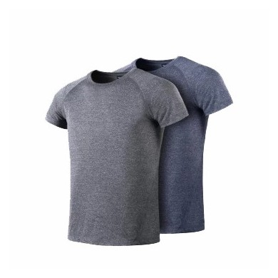 XIAOMI 7th Summer Fashion Men Silver Fiber Deodorant T Shirt Casual Short Sleeve T-Shirts