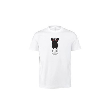 XIAOMI Kumamon Summer Fashion Men Pure Cotton Casual Short Sleeve O-neck White Black T-shirts