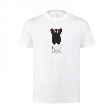 XIAOMI Kumamon Pure Cotton Women Short-sleeved Round Neck T-Shirts Summer Leisure Tees