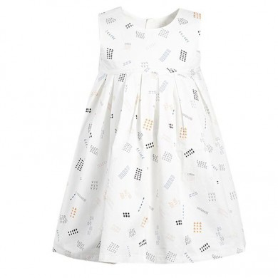 XIAOMI Future Password Summer Casual Girls Organic Cotton Children's Dress
