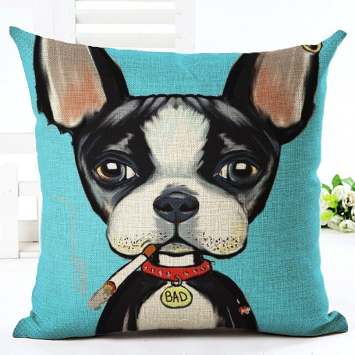 Details about  /Nordic Style Animal Cushion Cover Cartoon Cat Dog Pillowcases Home Decor CO