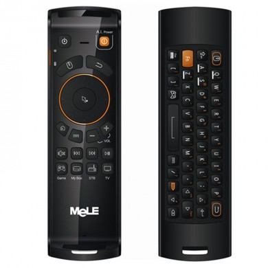 Mele F10 Deluxe Air Mouse tastiera wireless controllo remoto con IR funzione di apprendimento per Android TV