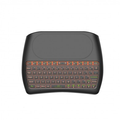 Mini I8 D8-S English Silk screen Version wireless 2.4GHz keyboard MX3 Air Mouse