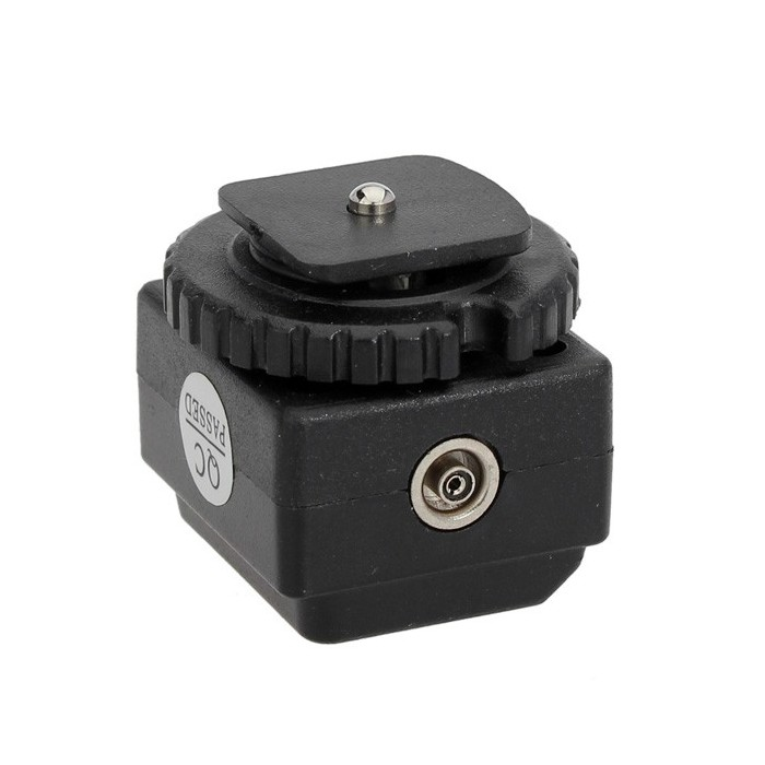 C-N2 Transition Socket Hot Shoe Converter Adapter with PC Sync