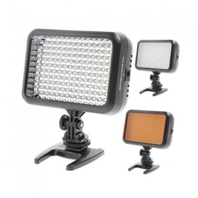 Yongnuo yn1410 140 video luce LED per Canon Nikon slr