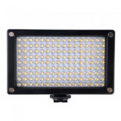 144as LED cámara de vídeo lámpara de luz bicolor temperatura 2354lux