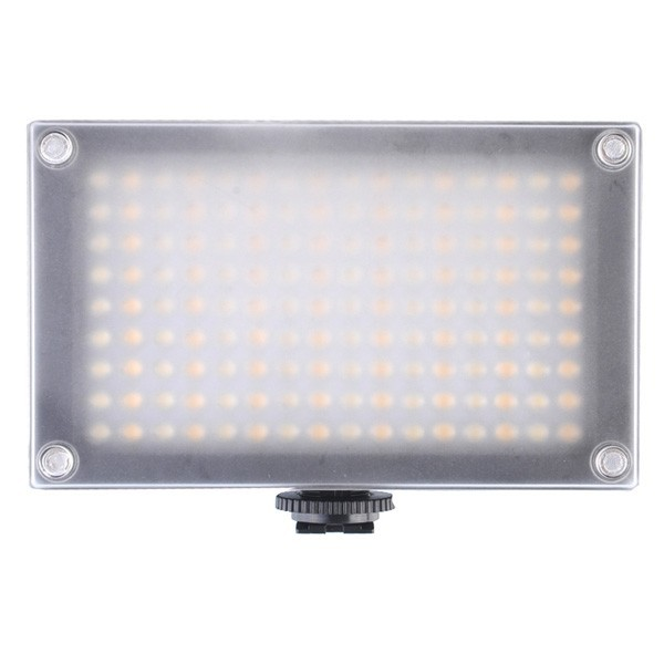 144AS LED Video Camera Light Lamp Bi-color Temperature 2354lux