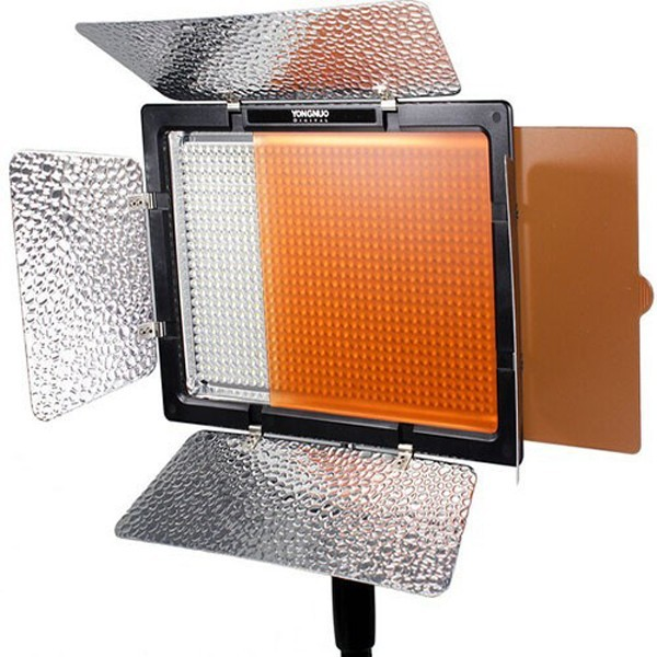 Yongnuo YN900 5500K 7200LM LED Video Light Panel With Power Adapter