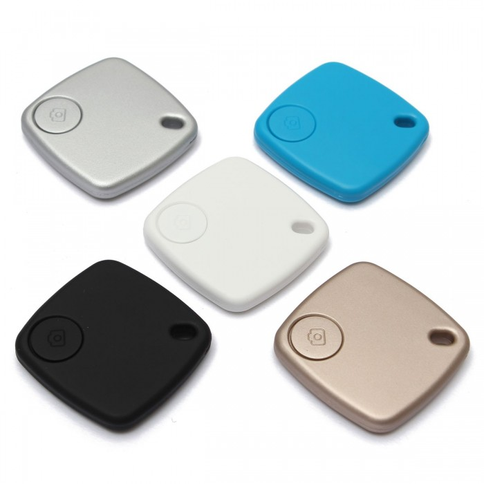 Quadrate Bluetooth Anti-lost Key Finder Camera Remote Tracker For iPhone Samsung