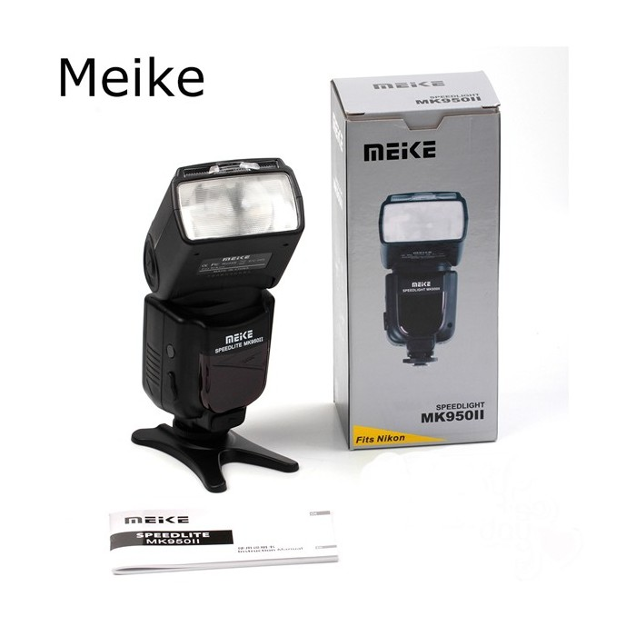 Meike MK-950 Mark II i-TTL TTL Flash Speedlite for Nikon D610 D7100 D5100 D3200 D810 D80