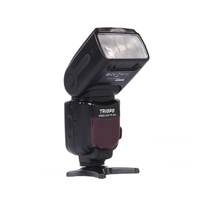 Triopo TR-950 Flash Speedlite for Canon EOS 5D Mark ii iii 6D 7D 50D 60D 70D 450D 550D 600D 650D 700D 1100D