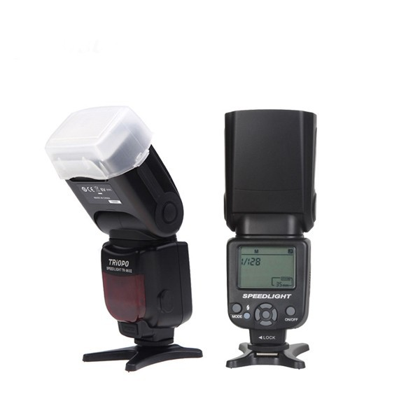 TRIOPO TR-960 II Flash Speedlite Manual Zoom for Nikon Canon Pentax DSLR Camera